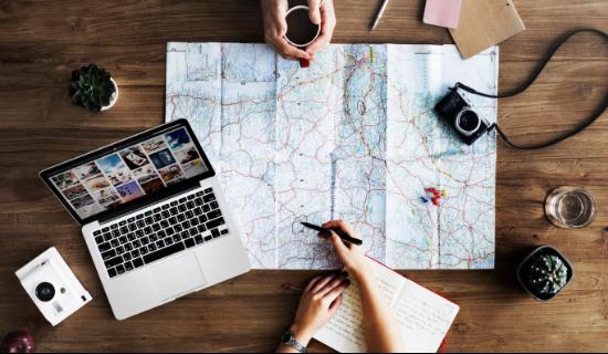 旅行を計画する
